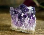 Raw Amethyst, Purple Amethyst, Amethyst Crystal Cluster ~1810
