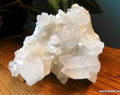Clear Quartz Crystal Clus...