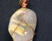 Rutilated Quartz Pendant ~1010