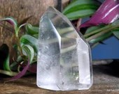 Quartz Point Clear Quartz Crystal Tower, Quartz Crystal Point ~1982