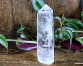 Quartz Crystal Point, Quartz Point Clear Quartz Crystal Tower ~1986