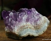 Amethyst Crystal Cluster Amethyst Point, Amethyst, Purple Crystal Point ~1737