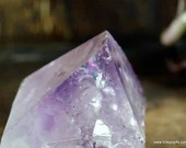 Raw Amethyst Point, Small Amethyst Crystal Tower ~1885