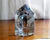 Smoky Quartz Tower Crystal Point ~1189