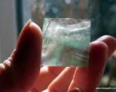 Green Fluorite Crystal Py...