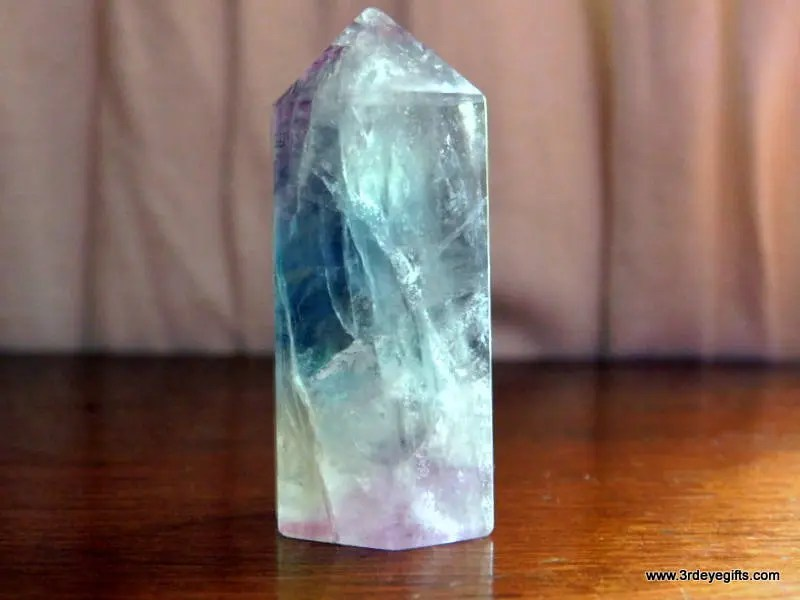 Rainbow Fluorite Crystal ...