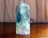 Rainbow Fluorite Crystal Tower, Fluorite, Crystal Point ~1180