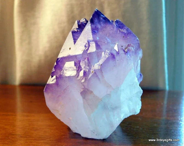 Large Amethyst Crystal Po...