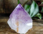 Amethyst Point Crystal Tower, Stress Relief Crystal, Purple Amethyst Crystal~1896