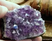 Amethyst for Stress Relief, Purple Amethyst Geode Crystal, Purple Quartz ~1258
