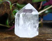 Quartz Point Clear Quartz Crystal Tower, Quartz Crystal Point ~1980