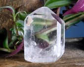 Quartz Crystal Point, Quartz Point Clear Quartz Crystal Tower ~1983