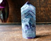 Rainbow Fluorite Crystal Mini Rainbow Crystal Point ~2053