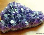 Amethyst Crystal Cluster ...