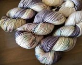 Candy Sky Hand Dyed Yarn Ready to Ship