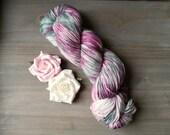 Blushing Sage Hand Dyed Yarn