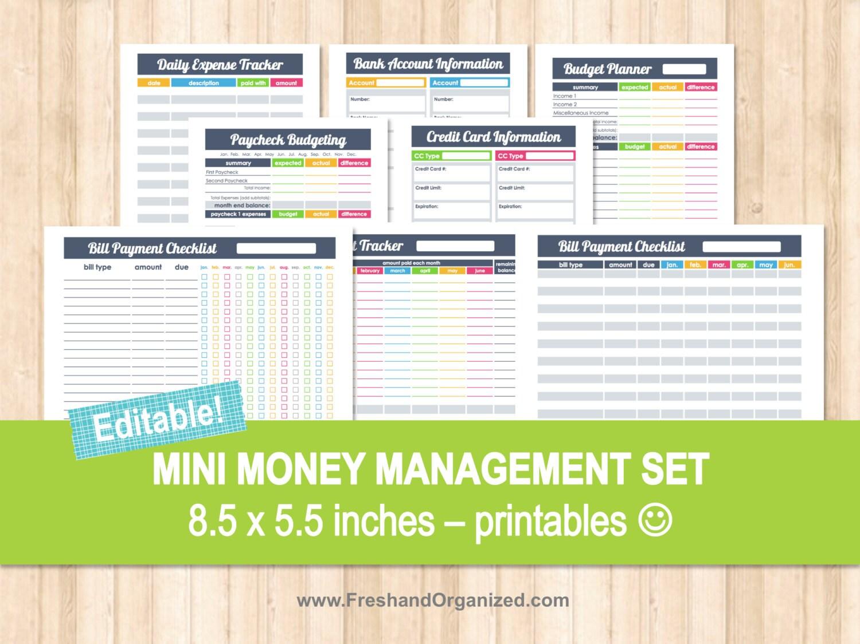 Mini Money Management Set