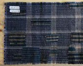 Boro-Inspired Sashiko Fabric #50-B | Authentic fabric hand-stitched to be Boro