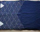 Sashiko Fabric / Japanese Vintage Fabric #004 Seikai Ha Plus