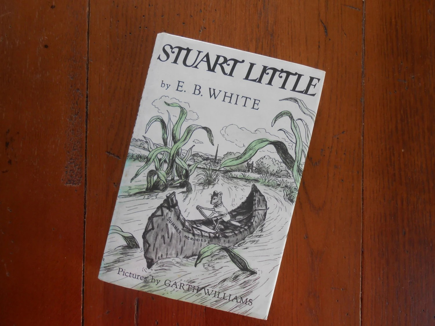 Vintage Stuart Little Book By E B White