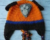 Crochet Zuma Paw Patrol h...