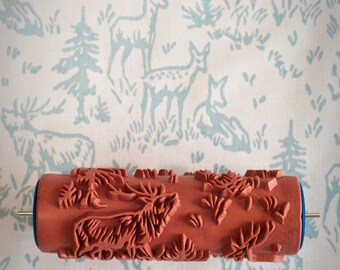 The Painted House by patternedpaintroller on Etsy 6 Patterned Paint Roller from The Painted House