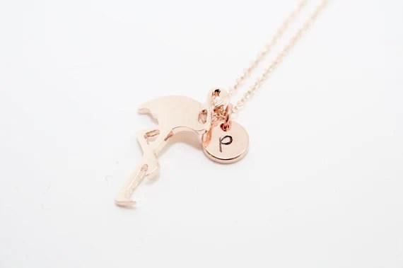 Personalised Flamingo Necklace