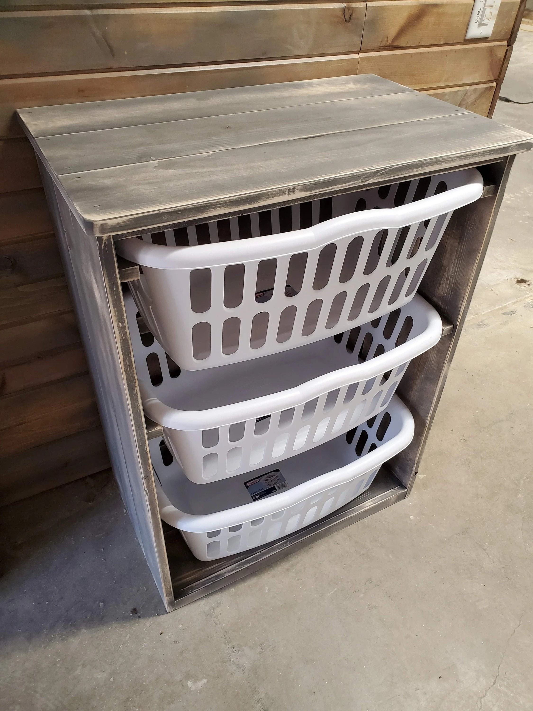 laundry basket holder etsy