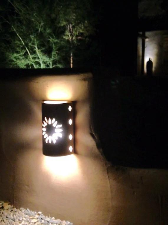 Wall light New Sun Southwestern lighting Outdoor wall | Etsy on Wall Sconce Lighting Decor id=70463