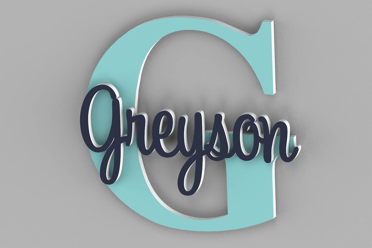 Personalized Name Sign For Kids and Babies Door Sign Name image 5