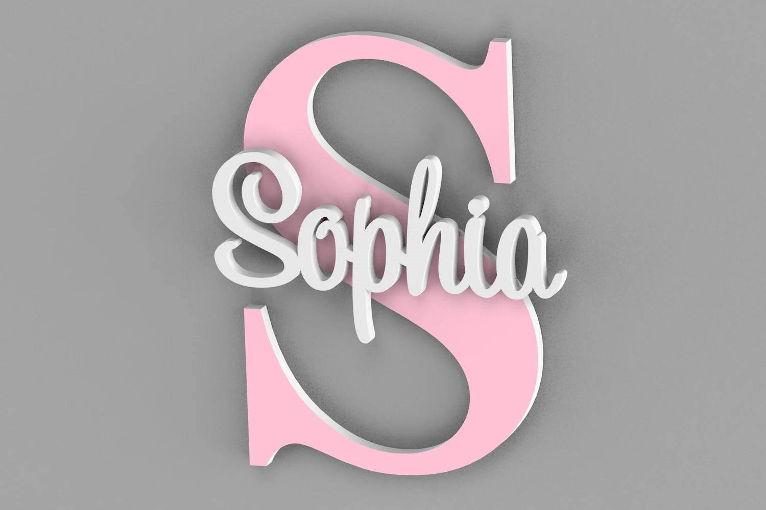 Personalized Name Sign For Kids and Babies Door Sign Name image 2