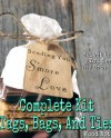 25 S Mores Wedding Favor Kit Hand Stamped Hand Stained Etsy