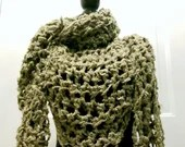 Luciana Triangle Scarf in 'Sage'