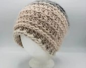 Pink and Gray Slouch