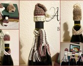Bottle Caps - mini hat & scarf sets for your spirits!