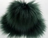 Fort Shafter Faux Fur Pom Pom