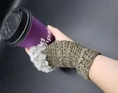 Build Your Own Fur Trimmed Wrist Warmers