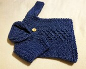 Infant Sweater in 'Olympic' - size 0-3 months