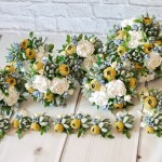 Mustard Yellow Bouquet Wedding Package Succulent Bouquet Etsy