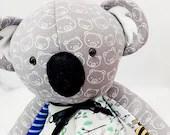 SMALL Memory Koala, keepsake koala, plush koala, newborn gift, bereavement gift, memory koala, memory koala