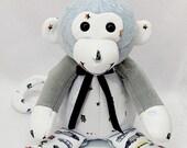 FULL TERM Memory Monkey, keepsake monkey, plush monkey, newborn gift, bereavement gift, memory monkey, custom monkey