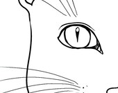 """Bookmark """"cat"""""""
