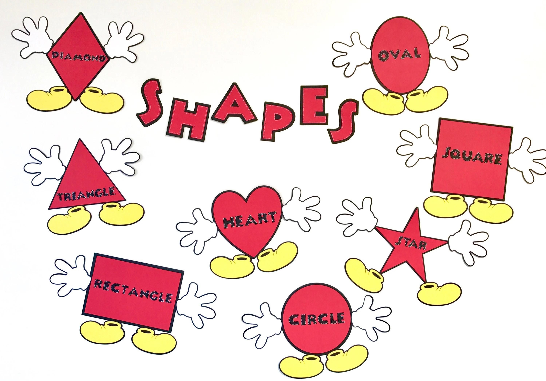 New Item Mickey Mouse Shapes Preschool Kindergarten