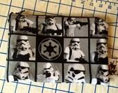 Stormtrooper zipper pouch, Star Wars Makeup Bag