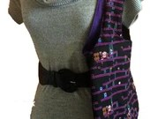 Nintendo Donkey Kong purse, reversible, fully padded