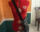 Star Trek Messeger Bag, Space Purse, Geek Fashion, Star Trek laptop bag, Star Trek diaper bag, Geek Purse, Geek Gift, Geeky Gift