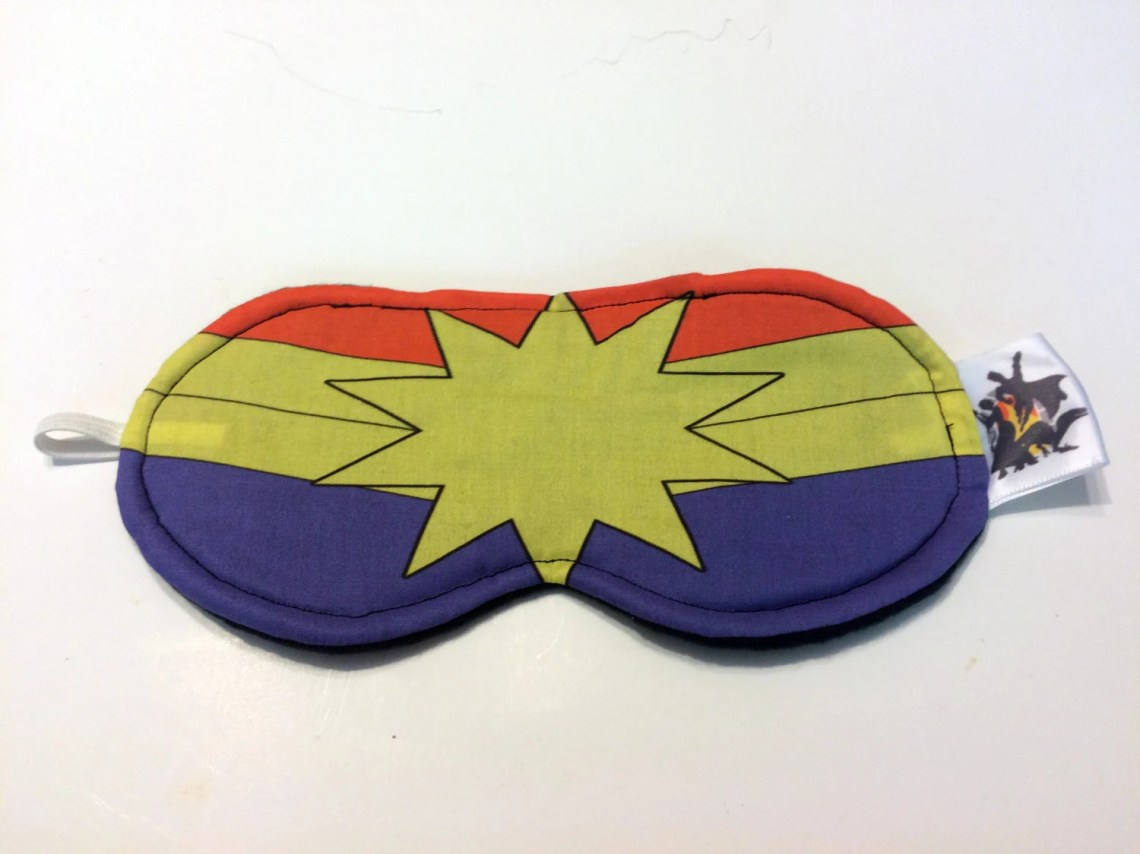 Captain Marvel Sleep Mask...