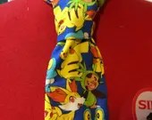 Pokemon necktie, Nintendo Necktie, nerdy tie, groomsmen gift