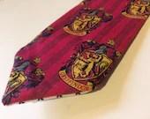 Gryffindor Necktie, Harry Potter Necktie