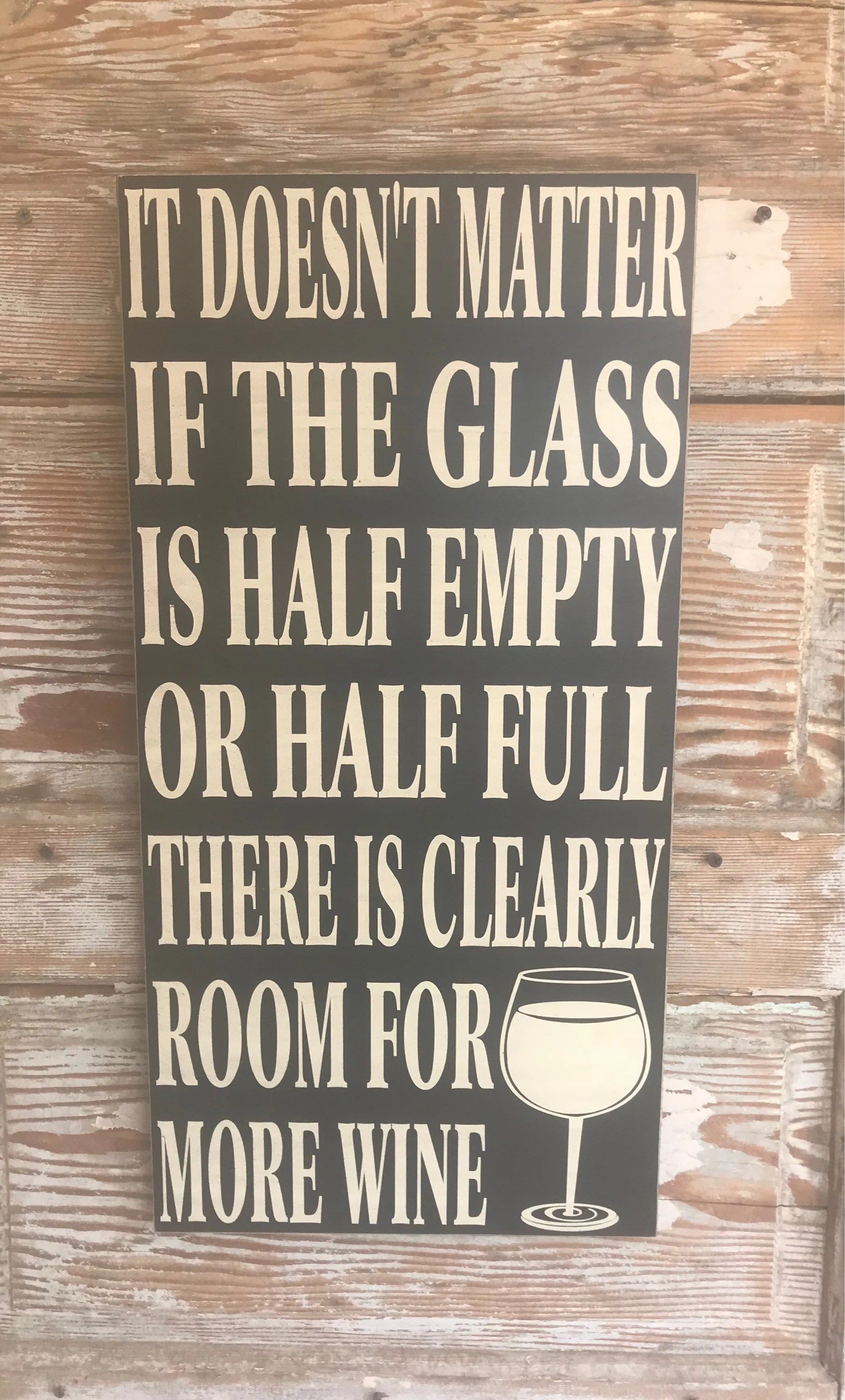 It Doesn T Matter If The Glass Is Half Empty Or Half Full